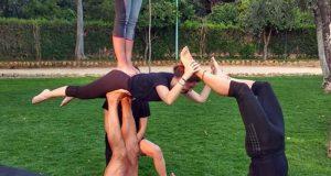 03 - Clase Acroyoga en el parque 28-06-2019 - Yoga 21